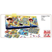 Ludo / Bingo / Juego De Recorrido 3 En 1 Toy Story Disney