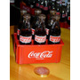 Coca Cola Mini Botellas De Vidrio Cajon X6 Ed.paises Dec`80