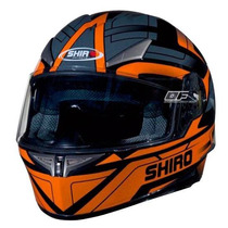 Casco Shiro Sh 715 Austin Orange Integral En Freeway Motos !