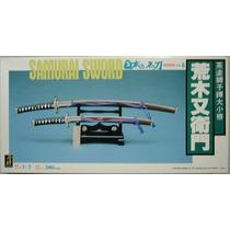 Espada Samurai Escala 1:3 Mide 34 Cm.