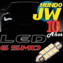 Led 6 Smd Lampara Tubular De 6 Led Smd Patente Guantera Inte