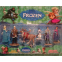Kit De 6 Personajes Frozen De 10 Cm Ideal Para Tortas