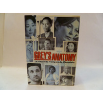 Grey's Anatomy 2a Segunda Temporada Dvd Original R4