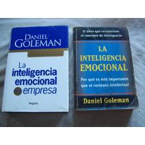 Lote De 2 Libros De Daniel Goleman - Inteligencia Emocional