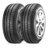 Kit X2 Nematicos Pirelli 175/65/14 P400 Evo Neumen C/coloc