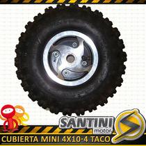 Cubierta 4x10-4 Mini Cuatriciclo 49cc En Cordoba