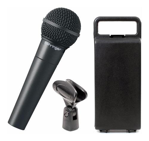 Micrófono Behringer Xm8500 Dinámico Negro