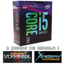 Micro Procesador Intel Core I5 8600k 4.3ghz Coffeelake Games