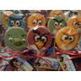 Chupetines De Chocolate De Angry Birds 10x