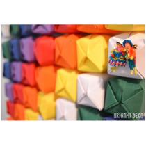 Bandera Whipala En Papel Origami Deco Unidad Latinoamericana
