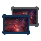 Tablet 10 2gb Ram 16gb Android Wifi Metalica Enova Funda