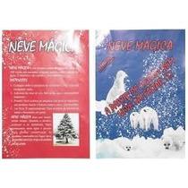 Nieve Artificial Vidrieras-fiesta-decoracion Video Subte B