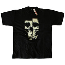 Remera Estampada Calavera Skull Hardcore Pop Heavy Dark