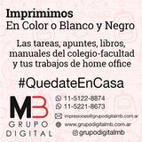 Impresiones Bajadas B&n Full Color Villa Urquiza -zona Norte