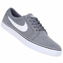 Zapatillas Nike Sb Satire 1.5 (gris+blanco) Mpis H