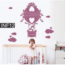 Vinilos Decorativo Infantiles Globo Nena Bebe