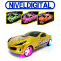 Auto Metalizado Radio Control Full Function C/ Luces Tuneado