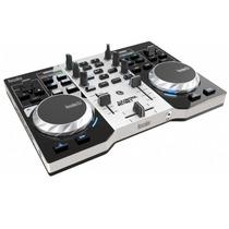 Consola Hercules Dj Instinct Placa Sonido Controlador Mixer