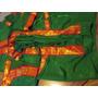 India Traje Tradicional De Bharatanatyam (danza India) Rm