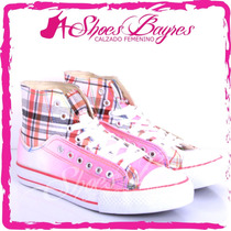 Zapatillas Botitas Urbanas Modelo Ecostar De Shoes Bayres