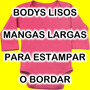 Bodies Bodys Body Bebe Lisos O Combinados P/ Estampar Bordar