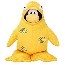 Peluche Club Penguin - Pez Amarillo - Sin Moneda