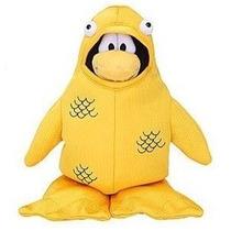 Peluche Club Penguin - Pez Amarillo - Sin Moneda