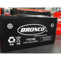 Bateria Original Bronco Ytz10s Tecnologia Agm Libre Mant