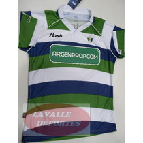Camiseta Rugby Flash San Martin Adulto Original De Fabrica
