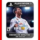 Fifa 18 Ps3 Español Digital | Envios Hoy En Minutos