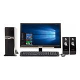 Computadora Completa Intel X2 2.4ghz 4gb Ssd120g Monitor
