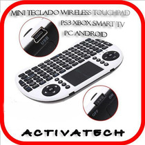 Mini Teclado Wireless Touch Ps3 Xbox Pc Android Tv Varela