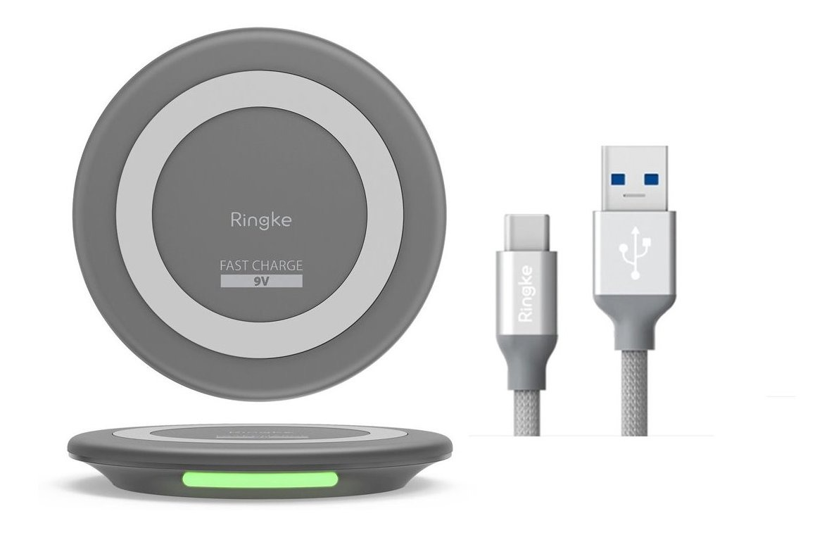 CARGADOR WIRELESS QI RINGKE + CABLE USAB TPY C 3.1 RINGKE