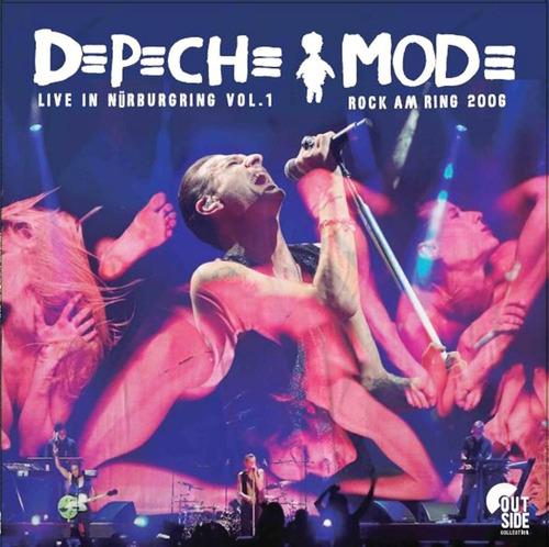 Vinilo Depeche Mode Live In Nurburgring Vol 1 Lp Nuevo