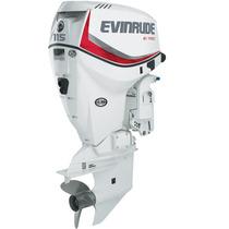 Motor Fuera De Borda Evinrude Etec 115 Hp Dsl 5 Años Garant