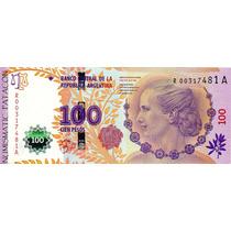 100 Pesos - Eva Perón Reposición - Marcó Del Pont / Boudou