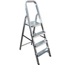 Escalera De Aluminio 4 Escalones Ultra Liviana Y Resistente