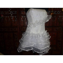 Vestido De 15 O Novia Casamiento Bordado