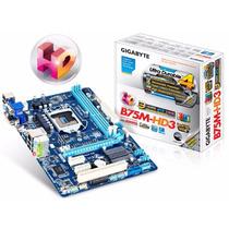 Gigabyte Ga-b75m-hd3 Lga1155 B75 Pci Hdmi Dvi 2da 3ra Intel