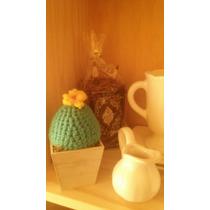 Cactus,búhos Al Crochet Colores A Elección!!!