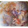 Porcelana Limoges France Platito Decorado A Mano 9 Cm Diam
