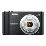 Sony Cyber-shot W800 Compacta Color Negro
