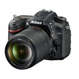 Camara Nikon D7200 Kit 18-140 + Sd 32gb C10