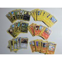 Cartas Pokemon Lote 40 Rombos Circulos Energias A Eleccion!