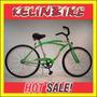 Bicicleta Playera Contrapedal Kelinbike R.26 Verde Manzana