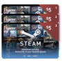 Lote De Tres Tarjetas Steam Wallet U$ 5 Ideal Para Compartir
