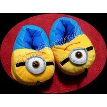Pantuflas Super Originales De Minions!! - Talle: 31 Al 37