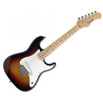 Guitarra Electrica Stagg J200sb Tipo Stratocaster Para Niño