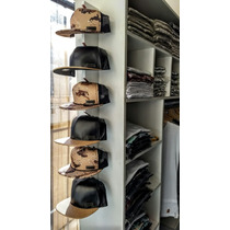 Organizador, Perchero, Exhibidor De 6 Gorras Snapbacks  Caps