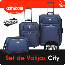 Set Valijas Bolso American Tourister By Samsonite 4 Piezas